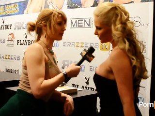 pornhubtv菲尼克斯marie採訪在2013年avn獎項