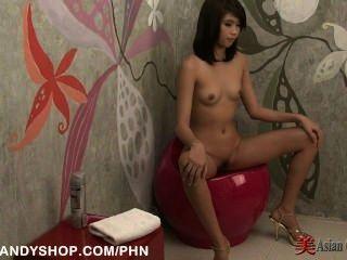 亞洲女孩陰部剃