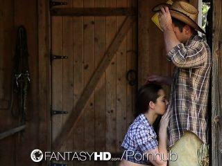 高清fantasyhd女牛仔dani丹尼爾斯在農場騎