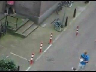 真正的街道性在阿姆斯特丹