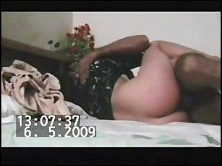 paki穆斯林女孩在黑色kameez他媽的5英寸paki豹陰莖
