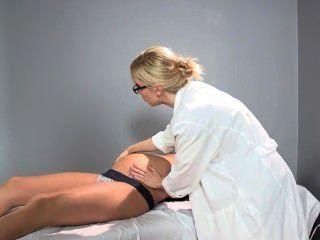 sadie holmes懷孕醫生幫助她的病人達到高潮