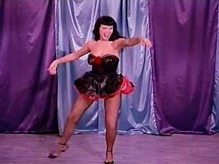 與betty頁的滑稽的舞蹈