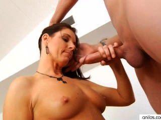 性感的核心媽媽印度夏天