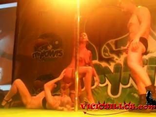 珊瑚joice,daniela evans y arcangel他媽的在feda通過viciosillos.com