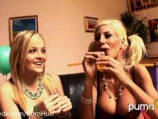 氣球和女同性戀!puma swede&alexis得克薩斯!