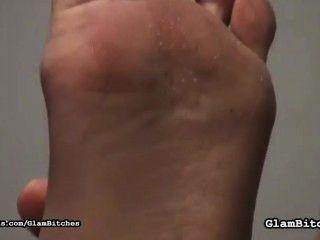 glam bitches jenny骯髒的腳崇拜