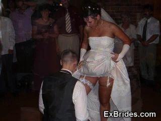 真正的熱業餘新娘!