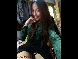 熱亞裔女孩alysa