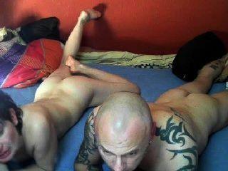 性感的德國夫婦在凸輪上