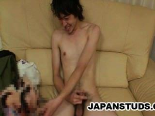 kazushi tazawa瘦的日本螺柱公雞搖晃