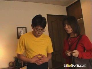 核心亞洲女人lovestruck他媽的