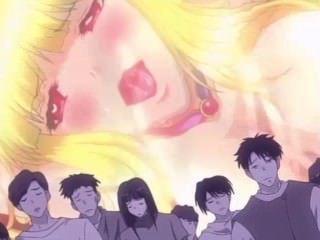 [falara♥無盡]金發少女在怪物輪姦被違反