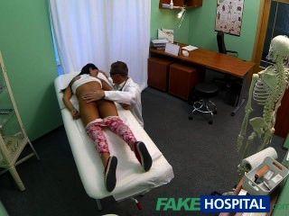 fakehospital青少年女孩不在避孕彎曲為醫生cr