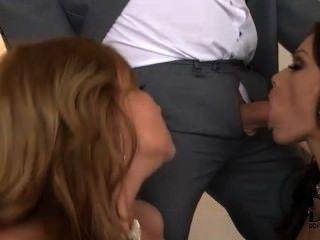 蘇菲和abbie與他們的男人很開心