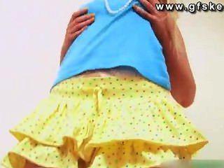 katie k黃色禮服