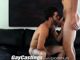 gaycastings可愛毛茸茸的演員願意做色情的現金