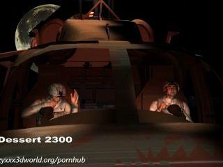 3d動畫:外星人入侵。第1集