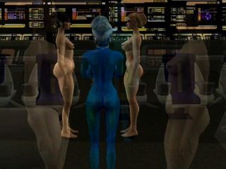 simtrek part#1 sims 2 sci fi