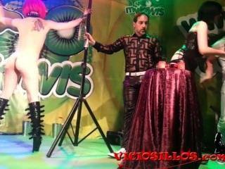 mago pepe顯示特色的情婦米勒和nora barcela由viciosillos.com