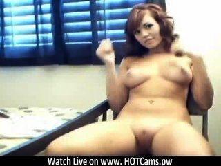 活的凸輪短髮金發dildoing她在網絡攝像頭www.hotcams.pw的。