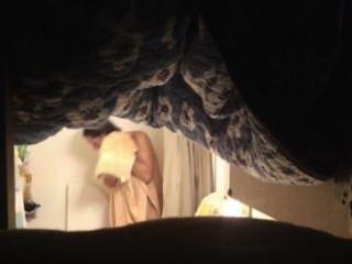 熱媽媽在淋浴