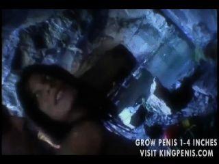 華麗的寶貝屁股在一個山洞裡
