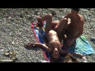 手淫在海灘