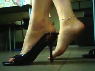 高跟鞋和鞋子戲劇