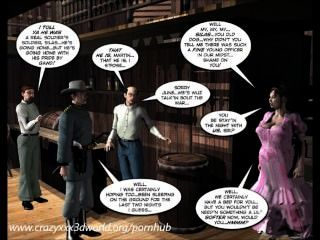 3d漫畫:六槍姐妹。第1集