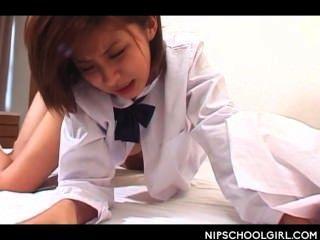 日本學校女孩unt釘釘狗狗風格的第一次