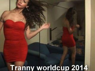 the tranny worldcup 2014在這裡與nikki ladyboys