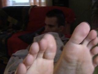 一個男人的petr腳