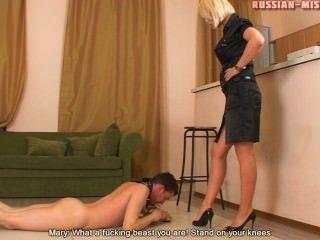 俄羅斯女主人瑪麗腳崇拜