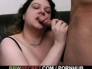 bbw誘使他變成熱的性