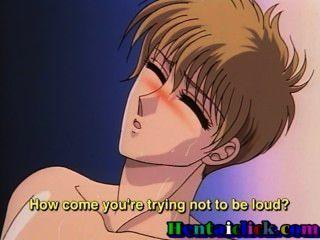 苗條的無盡同性戀twink讓他的butthole舔和他的朋友