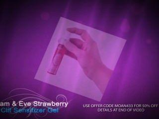 最好的陰蒂刺激器★亞當和夏娃的草莓裂隙敏化凝膠