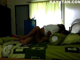 熱的泰國色情夫婦從payub清邁市