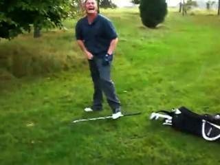 高爾夫球手架設