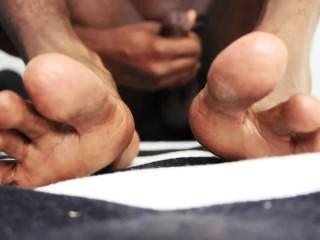 黑人腳和手淫