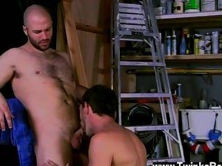熱同性戀性檢查他超級他媽的熱爆炸他得到了