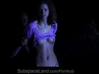 恐怖和提交在bdsm為兩個奴隸女孩