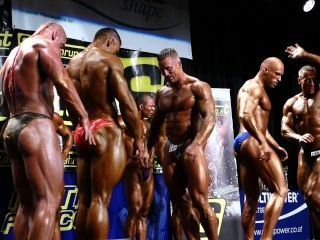 肌肉:競爭對手沒有152 nabba奧地利開放2014年