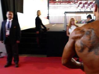 肌肉後台:阿諾德業餘歐洲2014年