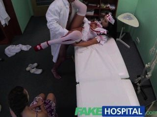 fakehospital病人股票醫生公雞與萬聖節殭屍護士