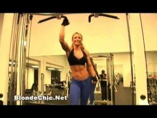 性感女性肌肉愛好者視頻12