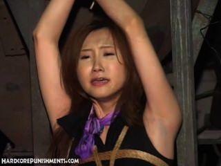 水酷刑為美麗的綁定亞洲寶貝
