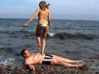最好的海灘足跡1