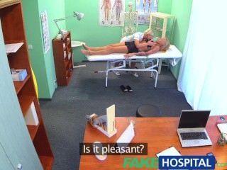 fakehospital幽閉恐怖的性感俄羅斯金發女郎似乎愛華麗的護士