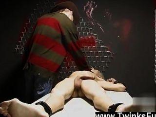 twink視頻在一個奇怪的夢想阿什頓cody被封裝和被a